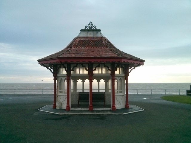 Shelter at sea front, Bexhill-on-Sea