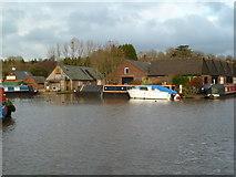 SO9969 : Worcester & Birmingham Canal - basin and maintenance depot by Chris Allen
