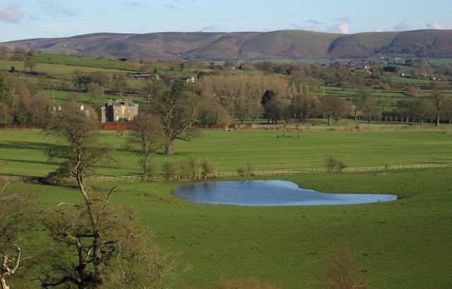 Pond and Linley Hall
