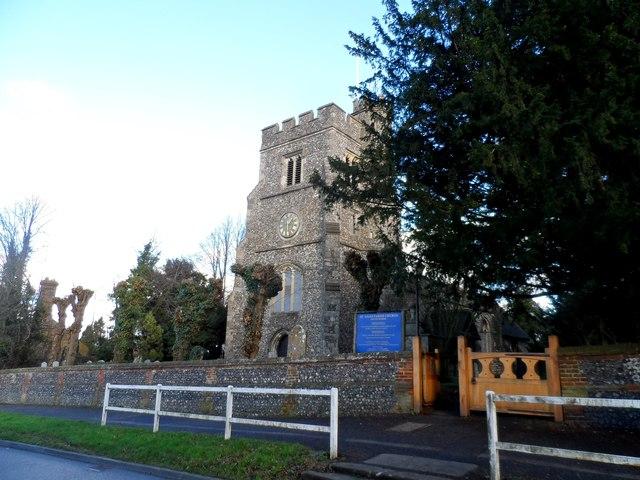 St Giles' church, South Mimms