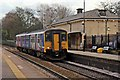 SJ4490 : Northern Rail Class 150, 150225, Huyton railway station by El Pollock