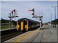 SD1970 : Northern Rail Service to Lancaster stops at Barrow-in-Furness by Andy Deacon