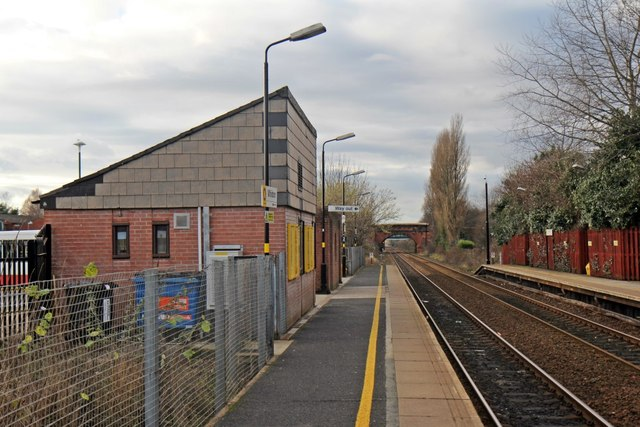 Booking office, Whiston railway station