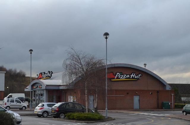 Pizza Hut At Cortonwood Retail Park Terry Robinson Cc