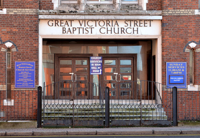 Gt Victoria Street Baptist Church, Belfast - January 2014 (2)