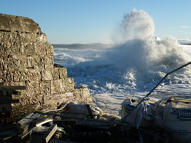 The Breach in the Sea Wall