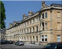 ST7465 : 16-22 St James's Square, Bath by Stephen Richards