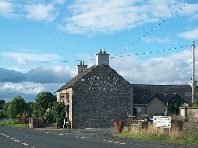 The Cross Guns Bar and Lounge between Nobber and Navan