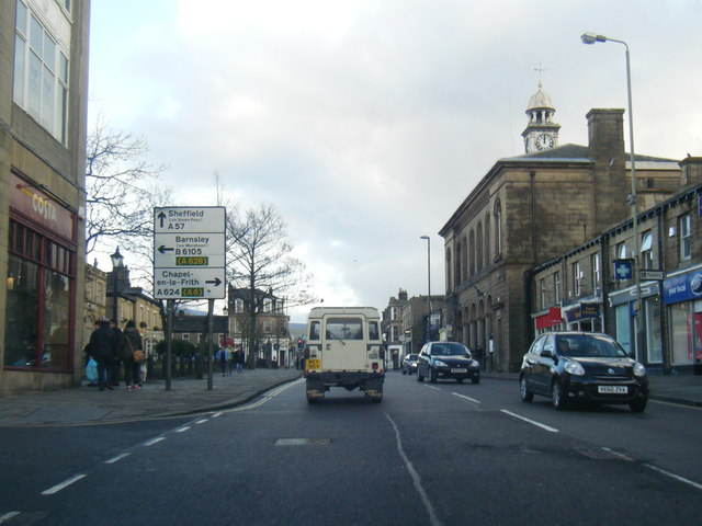 A57 High Street West, Glossop