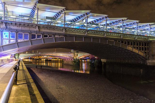 Under the Bridges of London, South Bank, London, SE1
