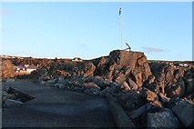 NW9954 : Dorn Rock, Portpatrick by Billy McCrorie