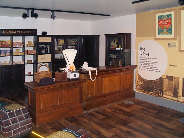 The Co-op Shop at the People's History Museum, Manchester