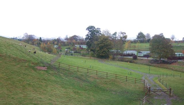 Grazing and caravan site