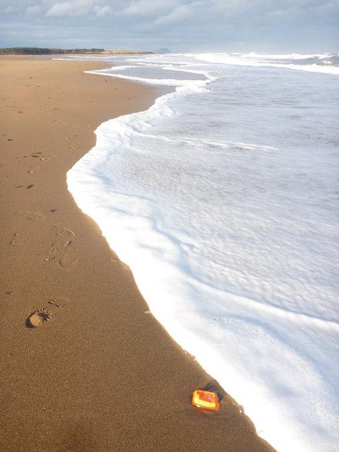 Coastal East Lothian : Foam, Belhaven Bay