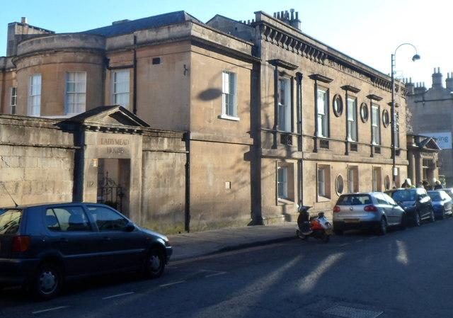 Ladymead House in Bath