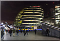 TQ3380 : City Hall, London SE1 by Christine Matthews