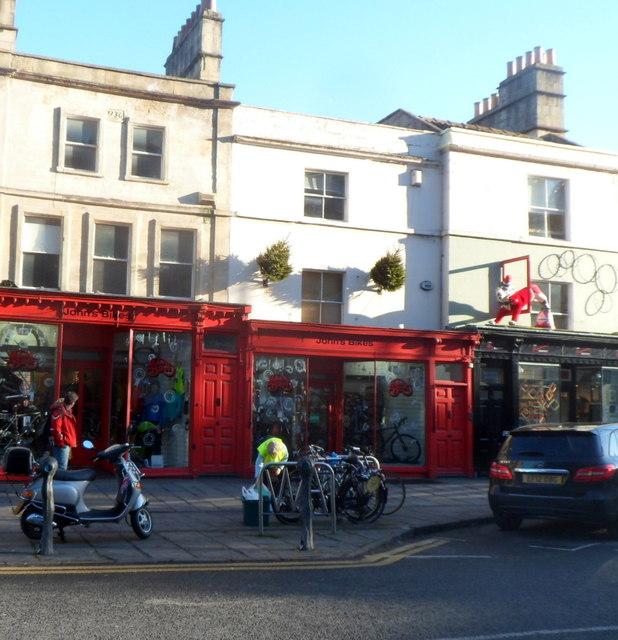 John's Bikes, Bath