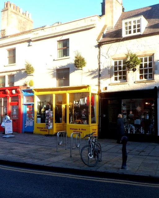 Yellow Shop, Bath