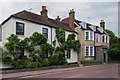 TQ4755 : Wisteria Cottage and Brasted House by Ian Capper