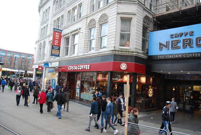 Costa Coffee, Market Street