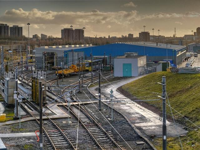 Metrolink Depot Queens Road 169 David Dixon Cc By Sa 2 0