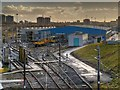 SD8500 : Metrolink Depot, Queens Road by David Dixon