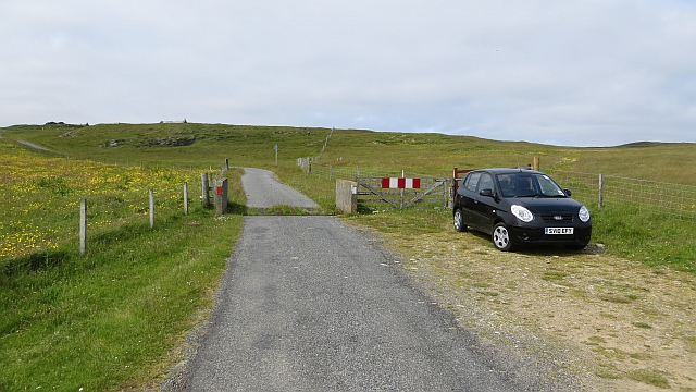 Cattle grid, B9088