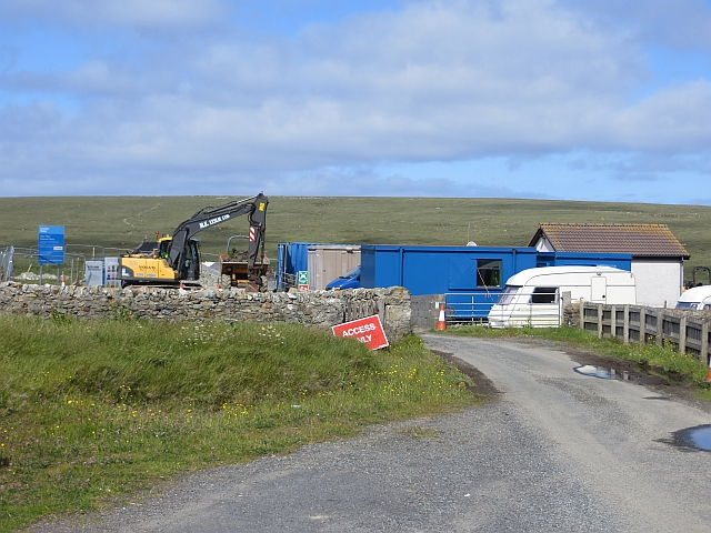 Construction, Fetlar Water Treatment Works