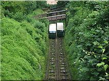 SS7249 : Lynton-Lynmouth Cliff Railway by Ken Amphlett
