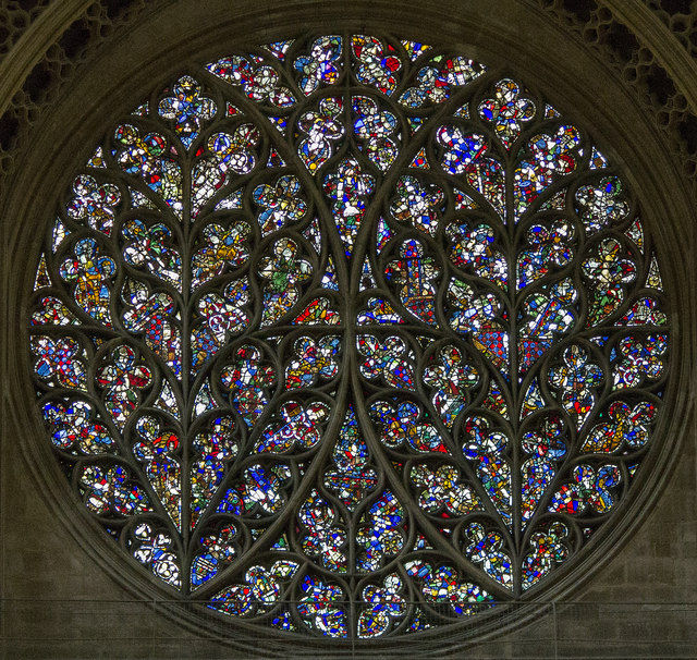 Bishop's Eye Window (S35), Lincoln Cathedral