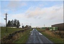 NT2756 : Crossroads, Mount Lothian by Richard Webb