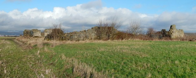The ruins of East Arkleston
