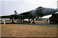 SZ1197 : Bournemouth Airport - Vulcan on static display - 1990 Bournemouth Airshow (1) by Mike Searle