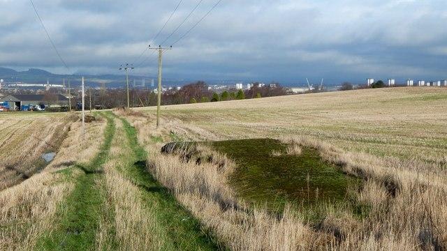 Farm track at South Arkleston