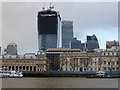 """TQ3380 : Custom House and the """"Walkie Talkie"""" by Oliver Dixon"""