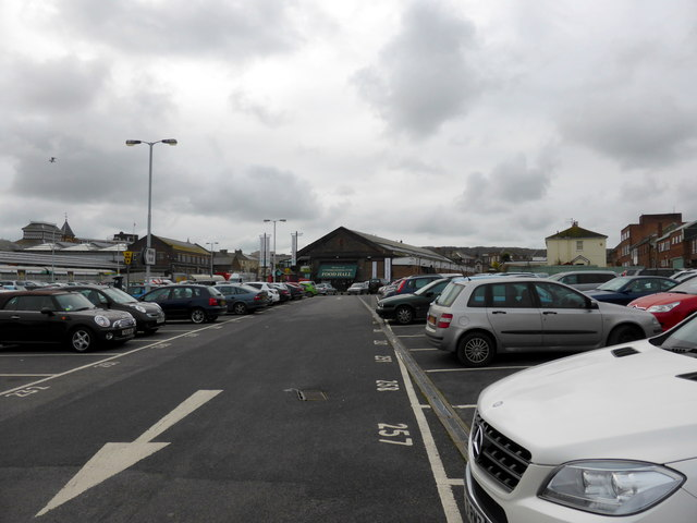 Car Park at Eastbourne Station
