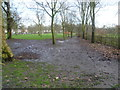 TQ2483 : Looking towards the bandstand in Queen's Park by Marathon