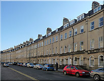 ST7565 : 1-18 Henrietta Street, Bath by Stephen Richards