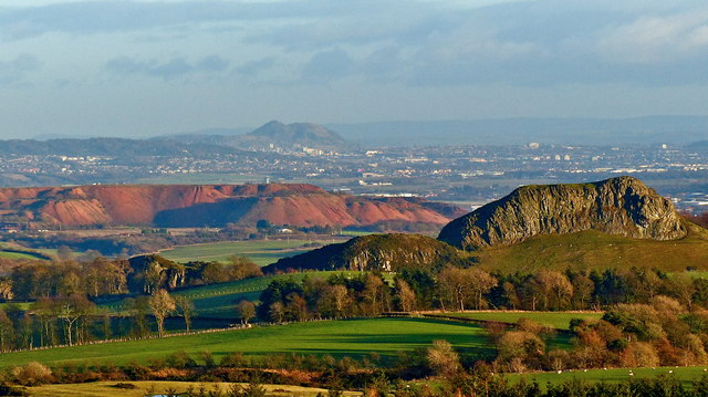 Volcanic activity in the Lothians
