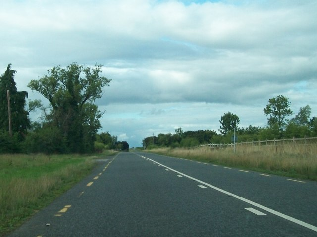 The R161 south of Williamstown, Co Meath