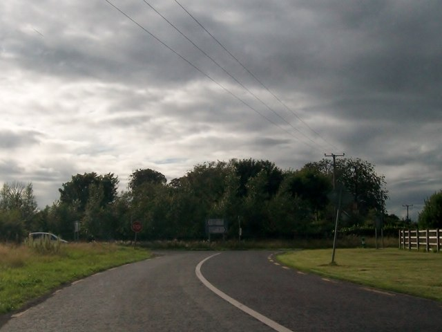 The junction of the L4010 and the R161 at Connells Cross Roads