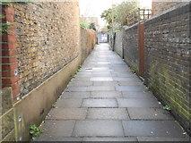 TQ2075 : Central School Path, Mortlake by David Howard