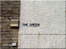 ST8993 : Old sign for The Green Tetbury by Paul Best