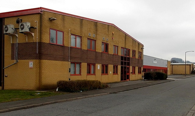 Stonedale Road industrial units, Stonehouse