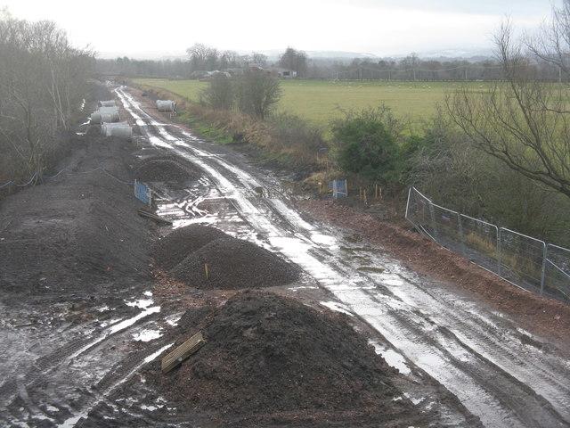 Rebuilding a railway