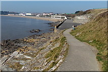 ST1166 : Whitmore Bay, Barry Island by Jaggery