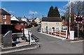 SO8405 : Western side of  Chestnut  Lane swingbridge, Stroud by Jaggery