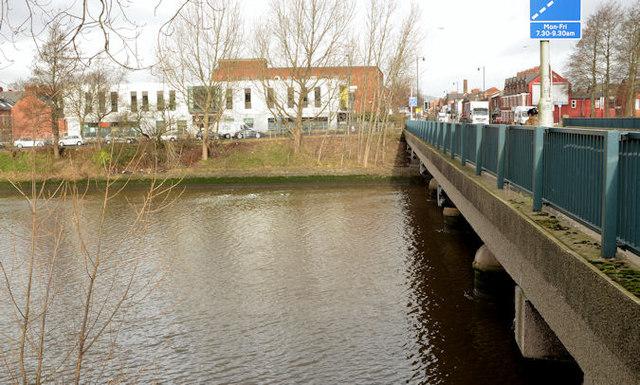 The Ormeau Bridge, Belfast - January 2014