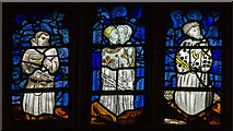SK7953 : Stained Glass Window detail (s2), St Mary Magdalene church, Newark by J.Hannan-Briggs