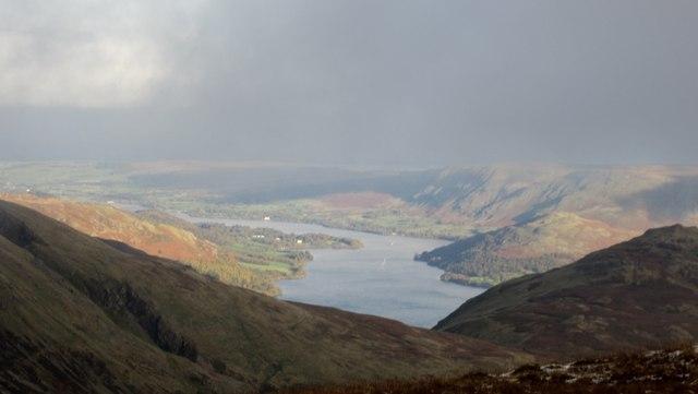 View towards Ullswater from Raise